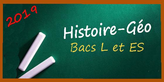 Les sujets et les corrigés d'histoire-géo pour les séries de bac L et ES
