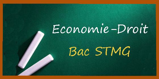 Bac STMG : les corrigés d'économie-droit