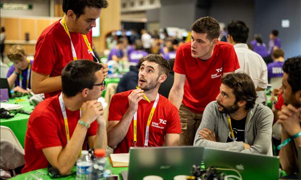TechCrunch Hackathon : 36 heures pour innover ensemble © Meero / VivaTechnology 2019