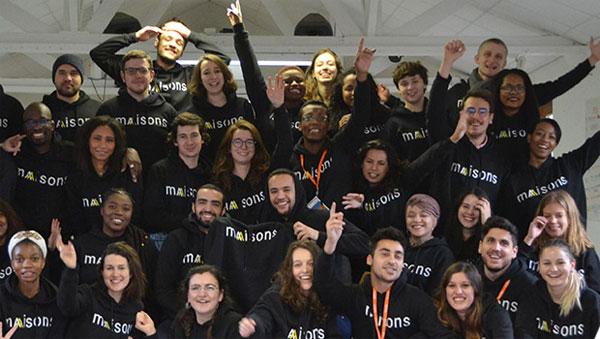 """Des étudiants vivant en """"Maisons"""", colocations solidaires de l'association Article 1"""