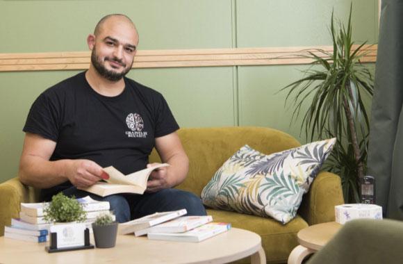 Kamel Kajout, champion du monde de lecture 2021 © Ville de Bondy
