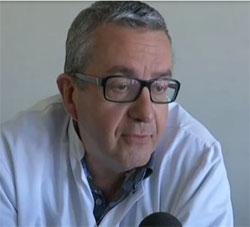 Le Dr Jean-Vital de Monléon, pédiatre au CHU de Dijon.