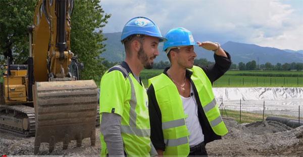"""Dans la web-série """"Les rencontres de Julien"""" : © capture vidéo chaine Youtube BTP CFA AuRA"""