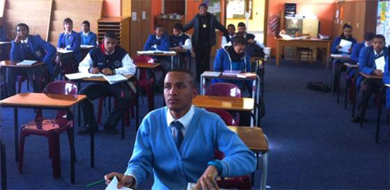 Une salle de cours en Afrique du sud. Photo : CalvinThomas (www.calvin-thomas.com)
