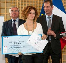 Marion Pautrot, lauréate du prix Ekilibre