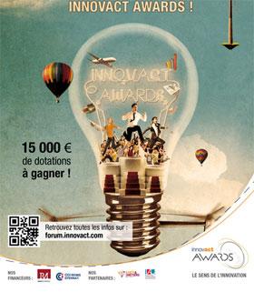 Le concours Innovact Awards 2014 récompense les start-up les plus innovantes