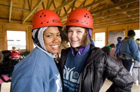 Des participants à un programme de formation au leadership (RYLA) à Williams Bay (États-Unis). © Rotary International