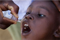 Le Rotary soutient des actions humanitaires, notamment contre la polio. © Rotary International