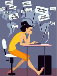 Recherche d'emploi : comment ne se pas se décourager ?