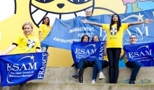 Six étudiants de l'ESAM envoyés au Brésil vivre la Coupe du monde