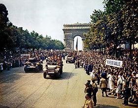 Le 70ème anniversaire de la libération de Paris