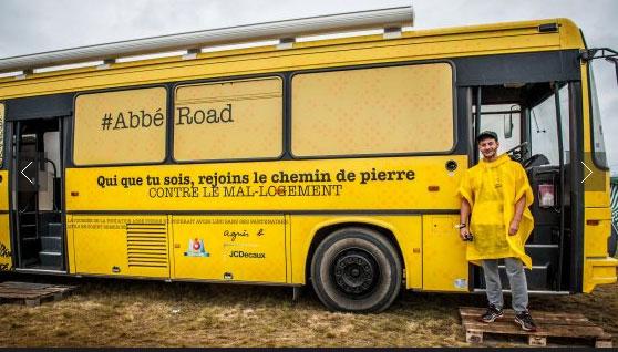 Abbé Road : des bénévoles de la Fondation Abbé Pierre dans les festivals de l'été