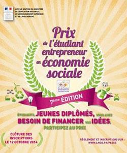 Les Prix de l'étudiant entrepreneur en économie sociale remis aux lauréats 2014