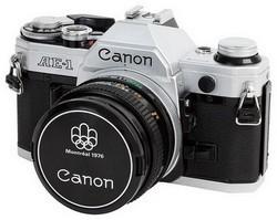 Modèle AE-1 de chez Canon