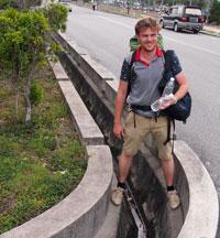 Rigole pour les inondations à Kuala Lumpur