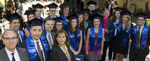 Remise de diplôme en 2014 à l'IAE Aix-Marseille