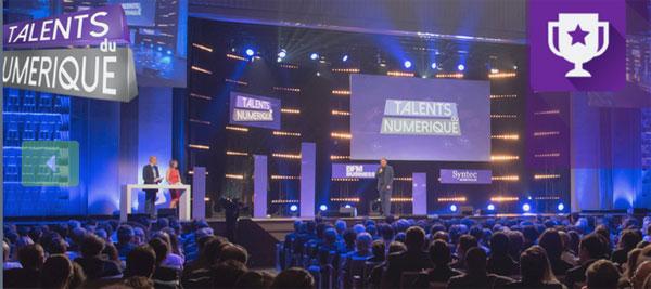La remise des prix des Talents du numérique a réuni plus de 1000 personnes à Paris.