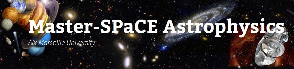 SPaCE : un master en astrophysique