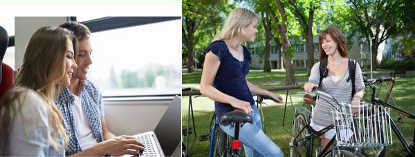 Transports : de plus en plus de solutions durables pour les étudiants