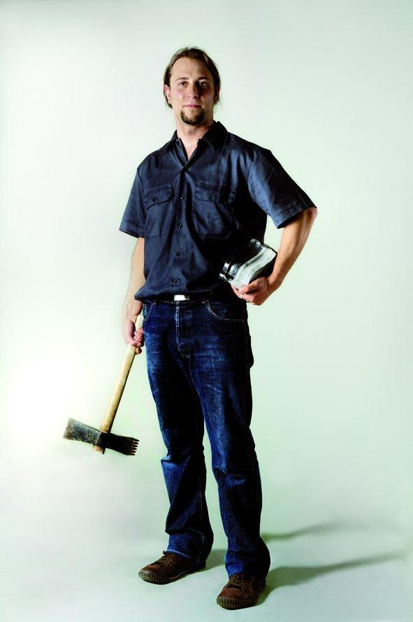 Pascal, jeune tailleur de pierre