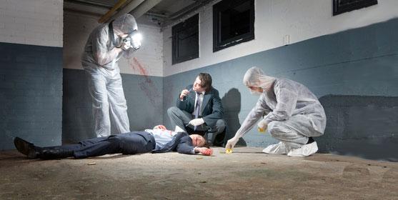 La police technique et scientifique : dans les labos et sur les scènes de crime