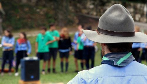 """""""Le scoutisme nous apprend à prendre des responsabilités"""""""
