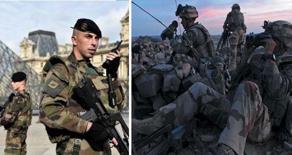 Visuels de la campagne de recrutement 2016. Photos : Armée de Terre.