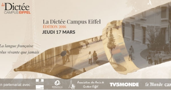 La Dictée Campus Eiffel : un exercice d'orthographe ludique pour tous