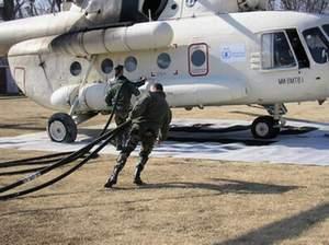 Opération du SEA en 2006 au Pakistan après le tremblement de terre