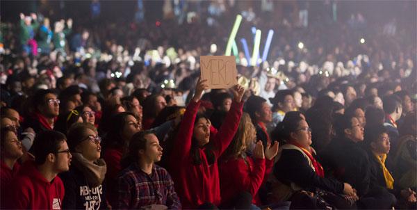 Frat 2016 : 10 000 lycéens réunis à Lourdes sur le thème de la paix