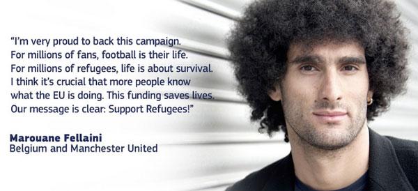 #SupportRefugees : une campagne pour soutenir les réfugiés pendant l'Euro de foot