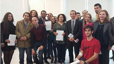 L'enseignement supérieur ouvre ses portes aux jeunes réfugiés