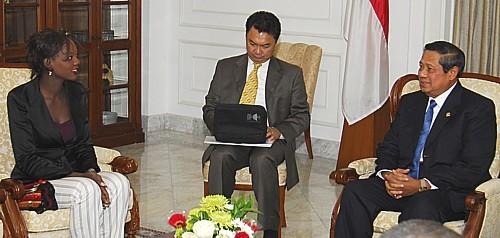 Rama Yade, une fonceuse en politique