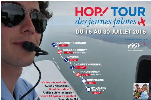 Sports aériens : 45 jeunes pilotes s'envolent pour un tour de France