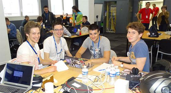 Le hackathon de la Matmut à Rouen clôturait le NWS Festival.