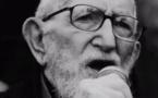L'abbé Pierre à la fin de sa vie. Crédit photo : Fondation Abbé Pierre