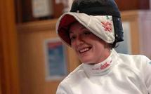 Sabrina Poignet, cadette de l'escrime paralympique