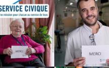 Service civique : une campagne pour dire merci aux volontaires