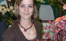 Marina, 24 ans, à l'Ecole des fleuristes de Paris