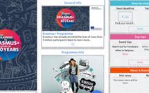 Erasmus+ : une application mobile lancée pour les 30 ans du programme