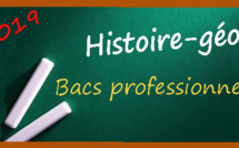 Les sujets et corrigés d'histoire-géo des bacs professionnels