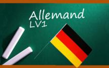 Les corrigés des sujets d'allemand LV1 pour toutes les séries