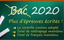 Bac 2020 : toutes les épreuves écrites remplacées par le contrôle continu