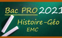 Bac Pro 2021 : les sujets et corrigés d'Histoire-Géo EMC