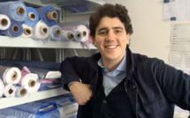 Fabrice, jeune patron de Cotton Society à Shanghai