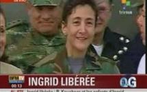 Ingrid Betancourt libérée par l'armée colombienne