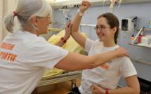 Le sport pour aider les jeunes malades du cancer