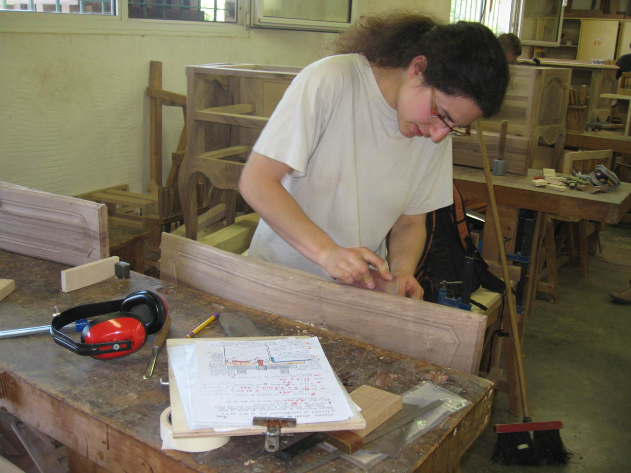 Formation Menuiserie D Art a l'ecole d'ébénisterie d'avignon, se former au travail du bois